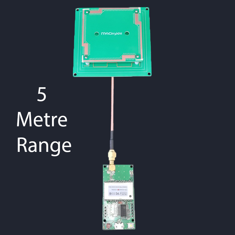 UHF RFID 900mhz Reader UART And USB Development Board Test Board Reader  Without Antenna